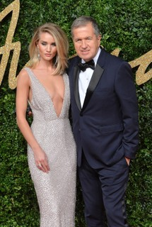 Rosie Huntington Whiteley e Mario Testino