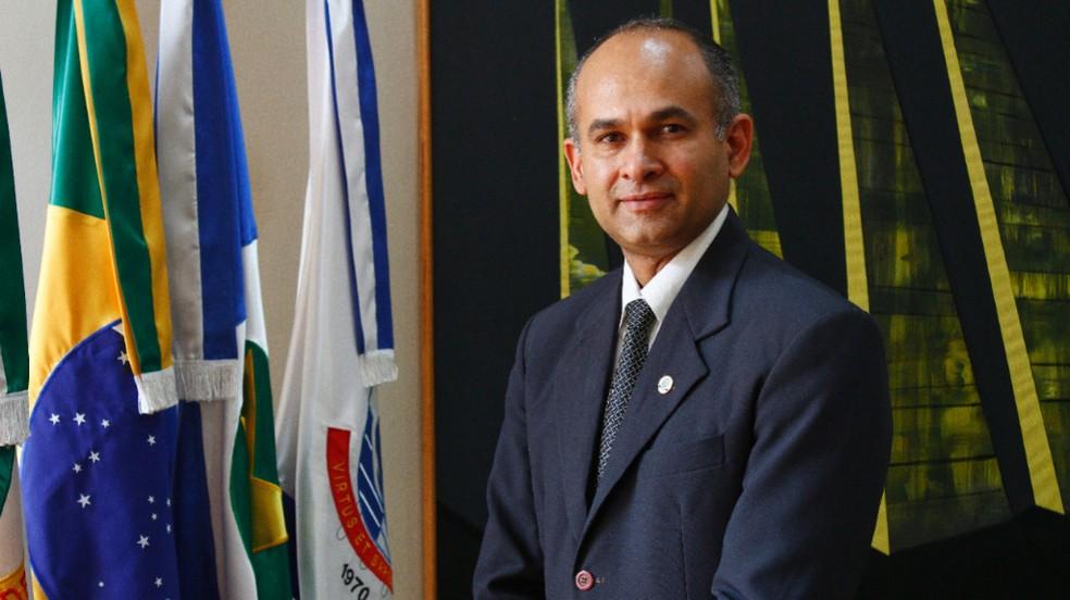 Reitor da UFMT, professor Evandro Soares da Silva — Foto: Willian Gomes - UFMT