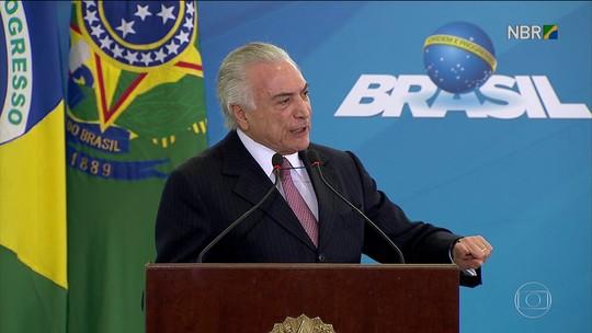 Tratativas para apoio a Temer na Câmara dominam agenda no Planalto