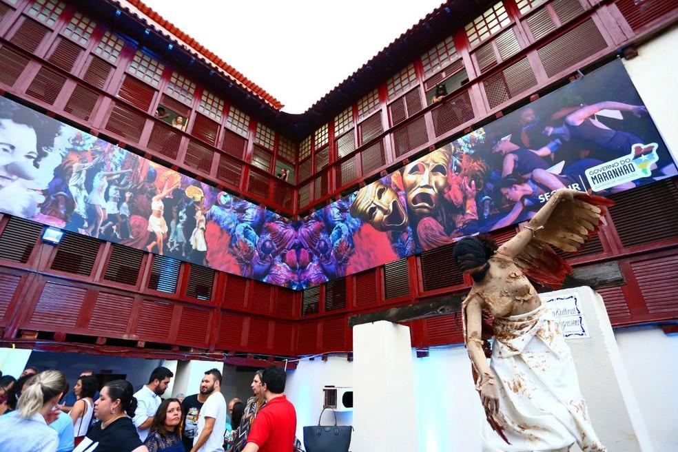 Centro de Artes Cênicas do Maranhão (Cacem) no Maranhão. (Foto: Divulgação/Gilson Teixeira)