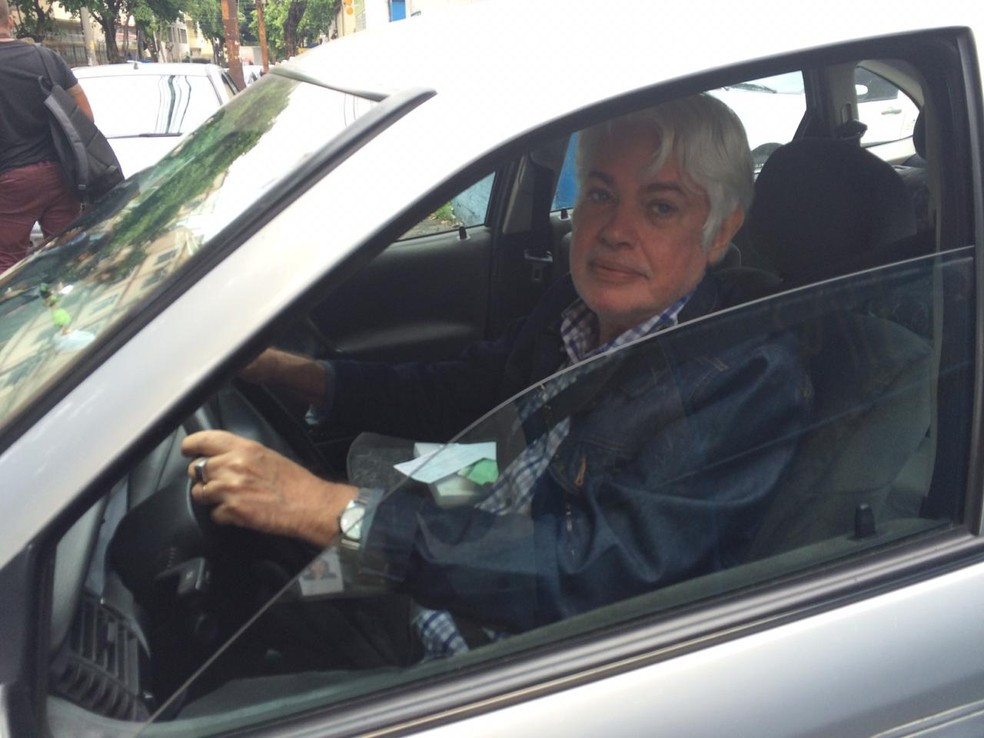 O engenheiro aposentado Cléber Freitas — Foto: Cristina Boeckel/G1