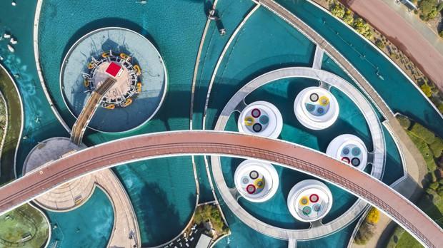 Parque francês tem playground com boias infláveis gigantes (Foto: photo © Sergio Grazia)