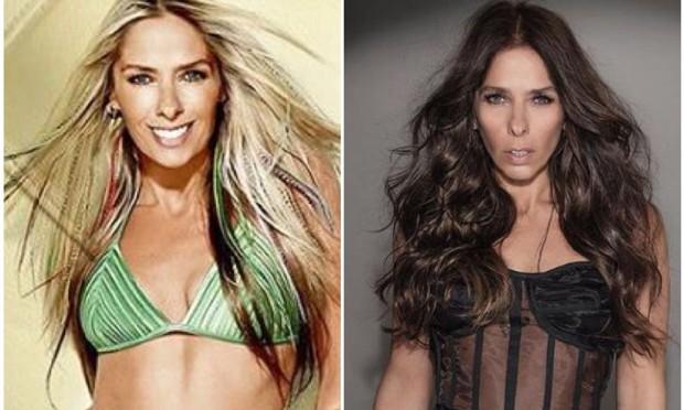 O antes e o depois de Adriane Galisteu (Foto: Reprodução/Instagram)