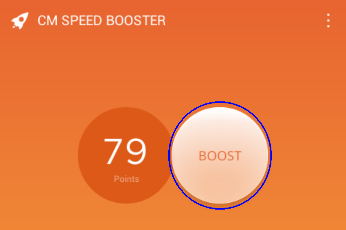 Iniciando o processo de Booster do dispositivo Android (Foto:Reprodução/Edivaldo Brito)