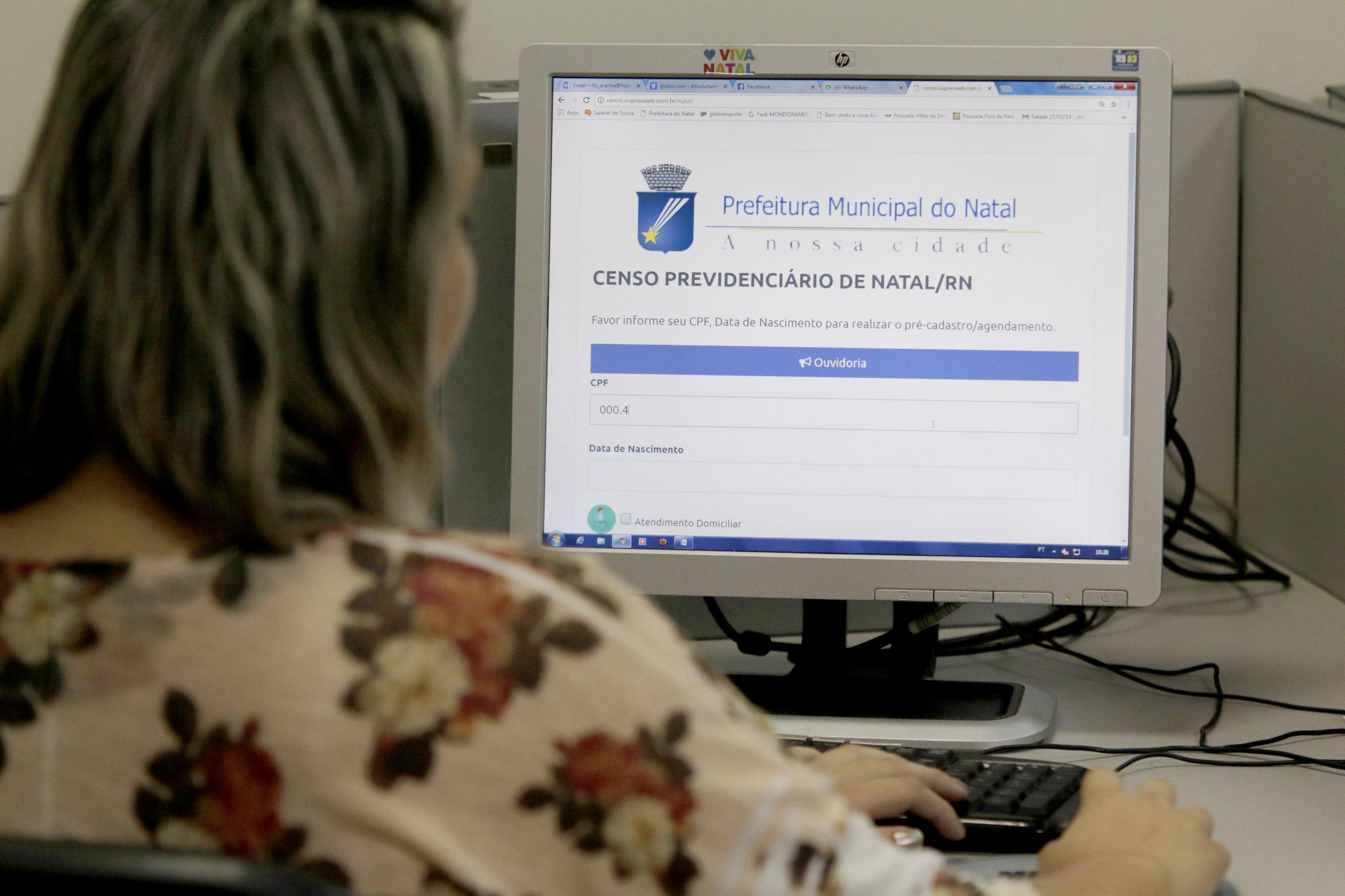 Cadastro para Censo da Prefeitura de Natal termina nesta semana