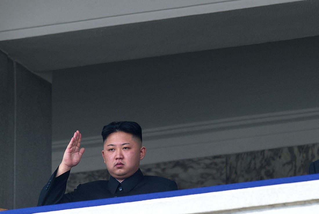 Kim Jong-un, líder da Coreia do Norte (Foto: Wikimedia Commons)