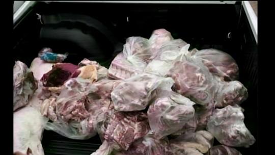 Ministério Público apreende três toneladas de alimentos em Campo Novo