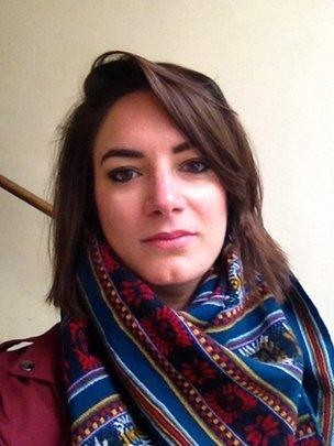 A socióloga francesa Claire Grisot, da associação Prison Insider (Foto: Arquivo pessoal, via BBC News Brasil)