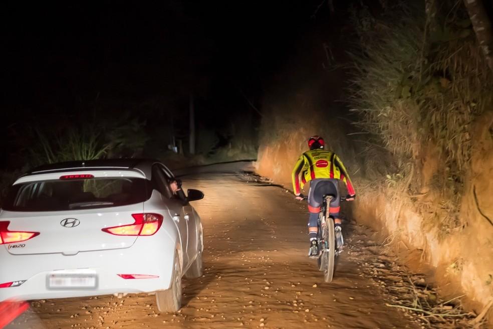 Ciclista pedala 365 km de Sorocaba a Aparecida em homenagem à mãe que morreu — Foto: Arquivo Pessoal