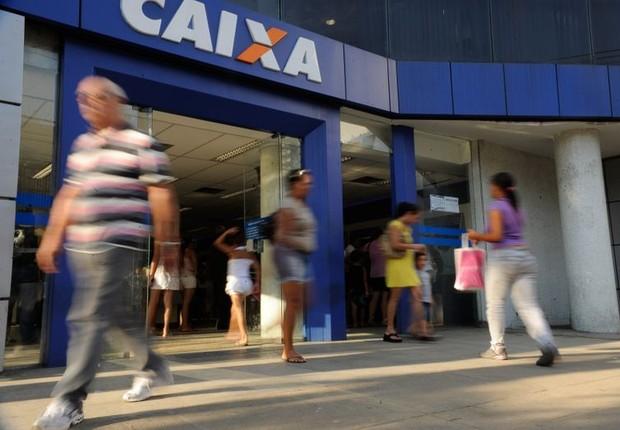 Agência da Caixa Econômica Federal (Foto: Tânia Rêgo/Agência Brasil)