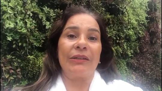 Carro de Solange Couto é roubado e atriz pede ajuda em rede social