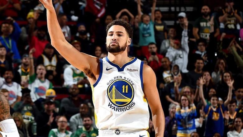Klay Thompson, astro do Warriors na NBA (Foto: Divulgação)