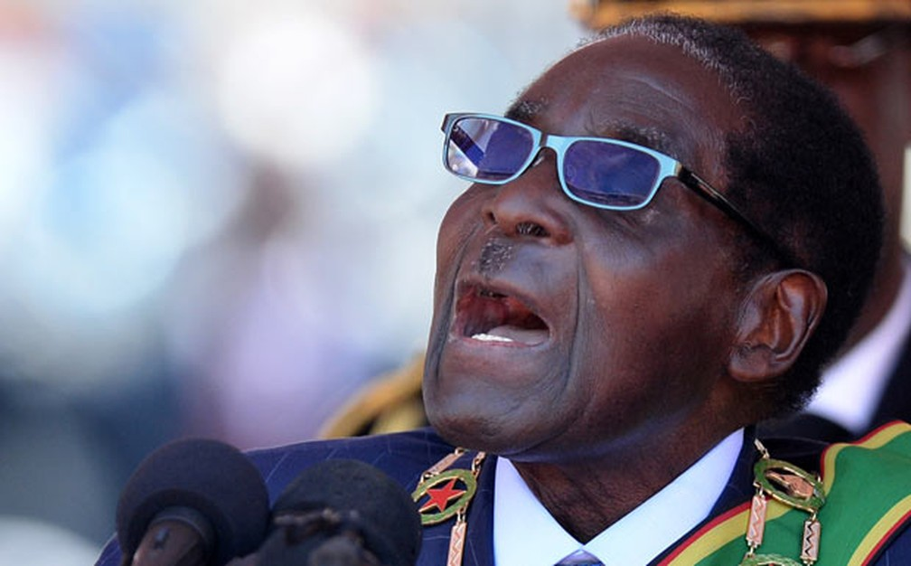 O presidente do Zimbábue, Robert Mugabe — Foto: AFP Photo
