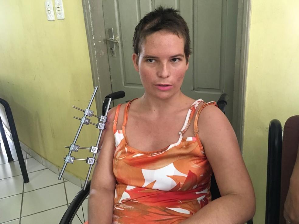 Mônica diz que suspeito não aceitou fim do relacionamento  â?? Foto: Gledisson Albano/Rede Amazônica Acre
