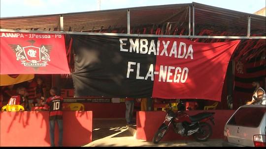 Globo Esporte: torcidas do Fla na Paraíba se reúnem e organizam festa para a final da Liberta