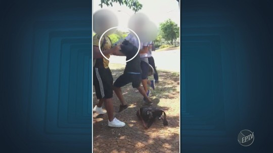 Aluno ameaça colegas com arma falsa em frente a escola particular de Campinas; vídeo