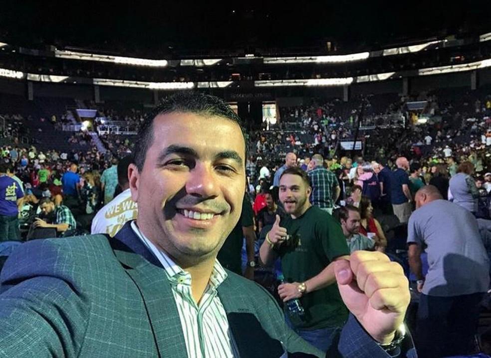 Youtuber Luís Miranda foi eleito deputado federal pelo DF  — Foto: Arquivo pessoal