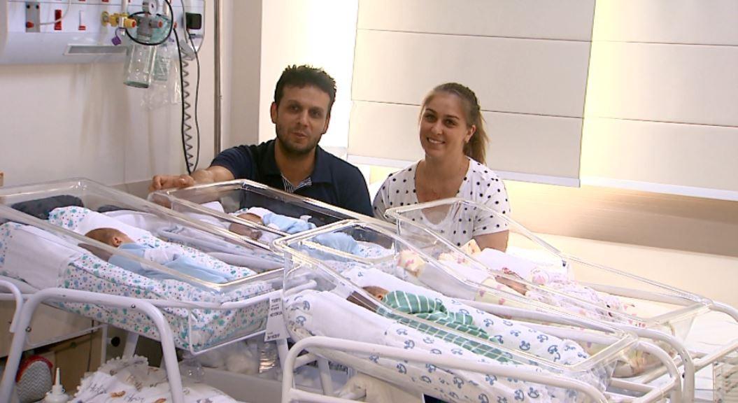 Hospital das Clínicas de Ribeirão Preto registra 1º parto de quadrigêmeos em 20 anos