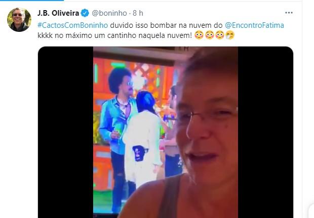 Boninho provoca fãs de Juliette (Foto: Reprodução/Instagram)