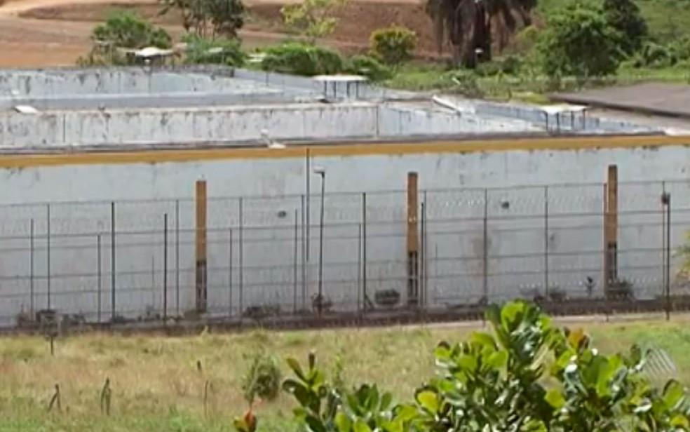 Conjunto Penal de Itabuna, no sul da Bahia — Foto: Reprodução / TV Bahia
