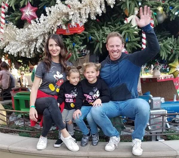 Ian Ziering e família (Foto: Instagram)