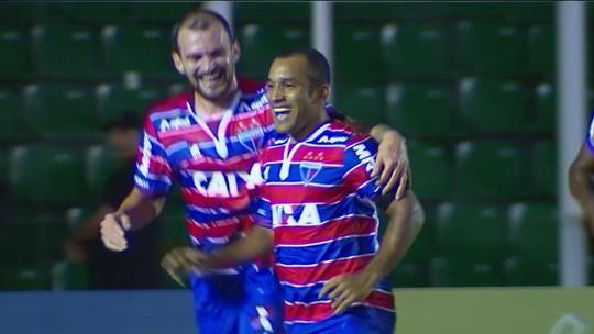 Os gols de Figueirense 1 x 3 Fortaleza pela 6ª rodada da Série B