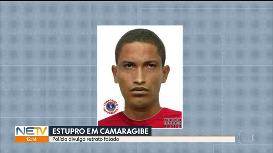 Homem estupra adolescente de 17 anos no Grande Recife e polícia divulga retrato falado