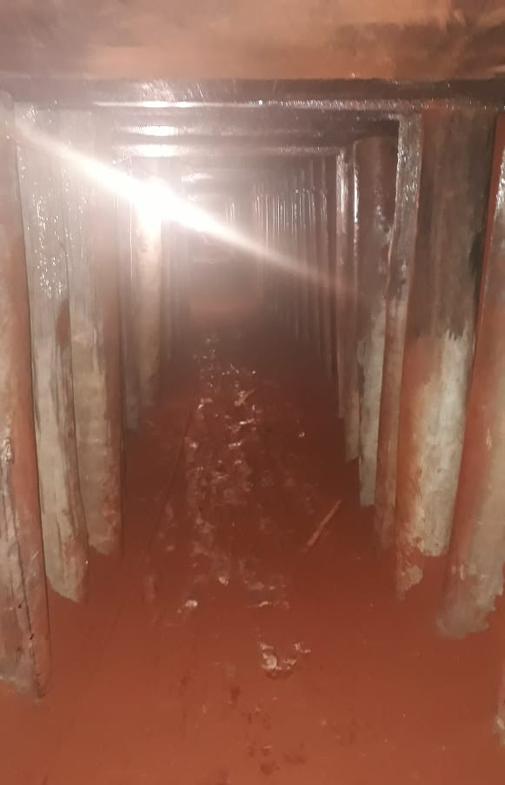 Túnel com cerca de 70 metros é descoberto pela polícia em Campo Grande. — Foto: Polícia Civil/Divulgação