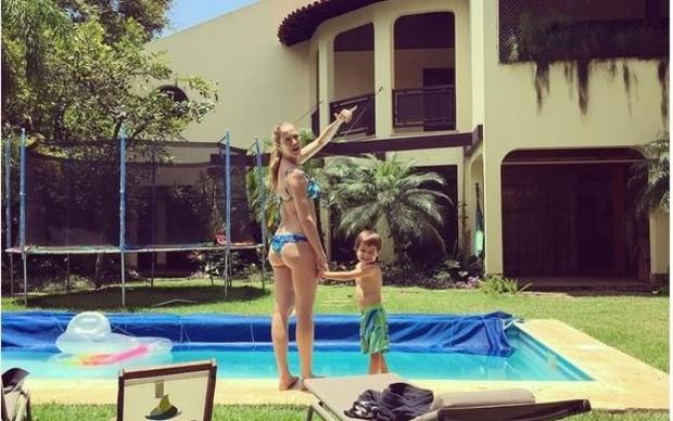 Casa de Luana Piovani depois da fama (Foto: Reprodução/Instagram)