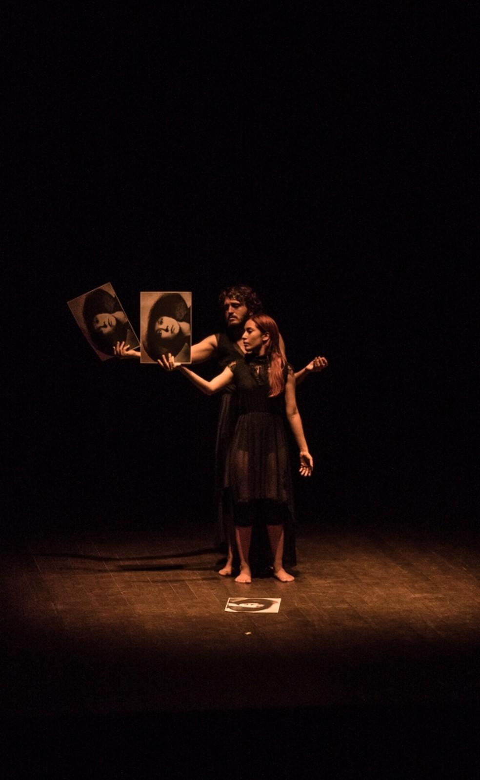 """Espetáculo """"Asja Lacis já não me escreve"""" é destaque nesta sexta-feira (13), no Dragão do Mar. (Foto: Angélica Maia/Divulgação)"""