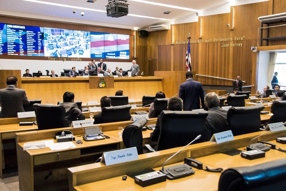 Plenário da Assembleia Legislativa do Maranhão. — Foto: Divulgação/Alema