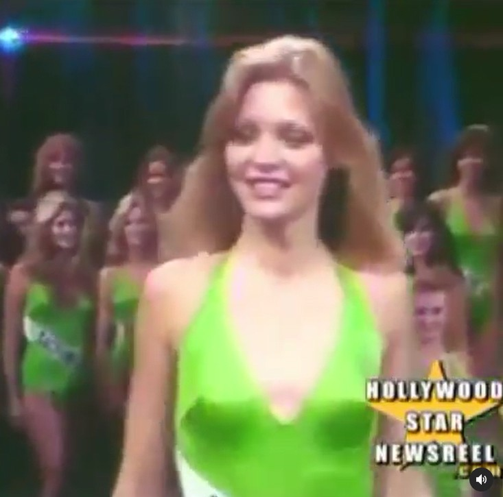 Michelle Pfeiffer participou de concursos de miss nos anos 1970 (Foto: Reprodução / Instagram)