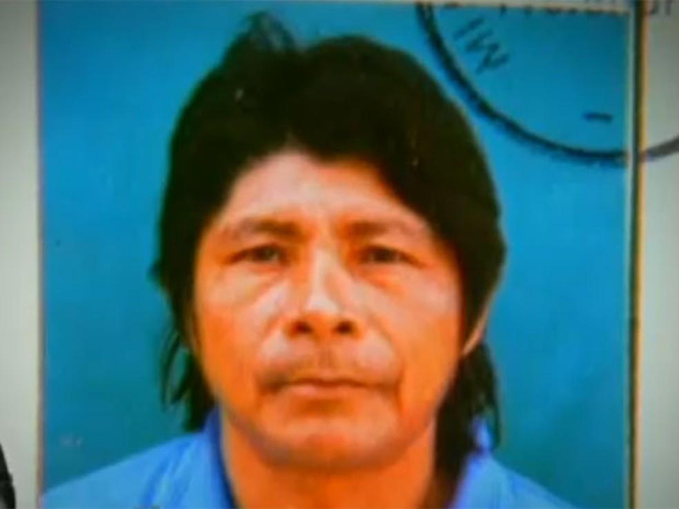 Galdino, índio morto queimado no DF (Foto: TV Globo/Reprodução)