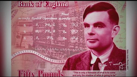 Banco da Inglaterra homenageia herói injustiçado na nova nota de 50 libras