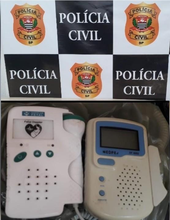 Polícia Civil identifica suspeita e recupera equipamentos furtados da Santa Casa de Adamantina