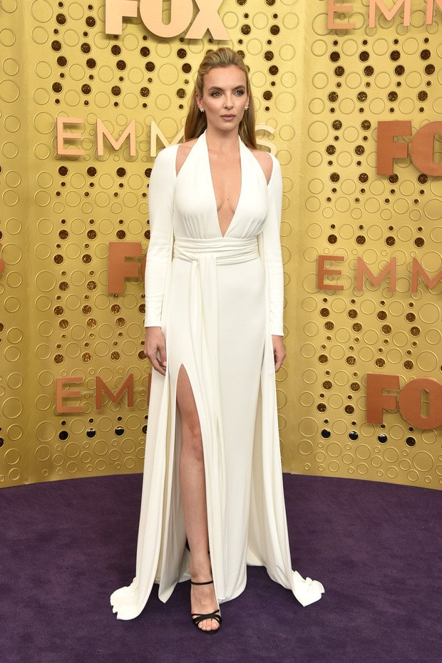 Jodie Comer usa Tom Ford (Foto: Getty Images)