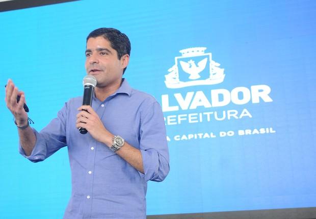 ACM Neto apresenta o último eixo do programa Salvador 360, Cidade Criativa (Foto: Aristeu Chagas)