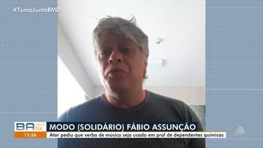 Vocalista da banda La Fúria aposta em 'Fábio Assunção' para música do carnaval e reforça campanha: 'Curta com moderação'