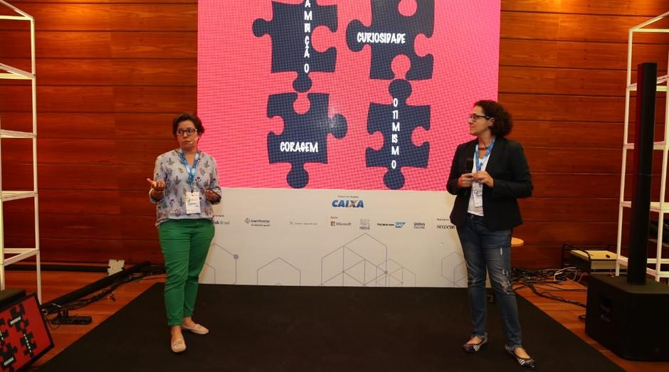 Fernanda Moura e Taciana Mello (Foto: Alexandre DiPaula)