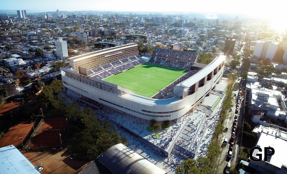 Novo Parque Central terá capacidade para 40 mil pessoa (Foto: Divulgação)