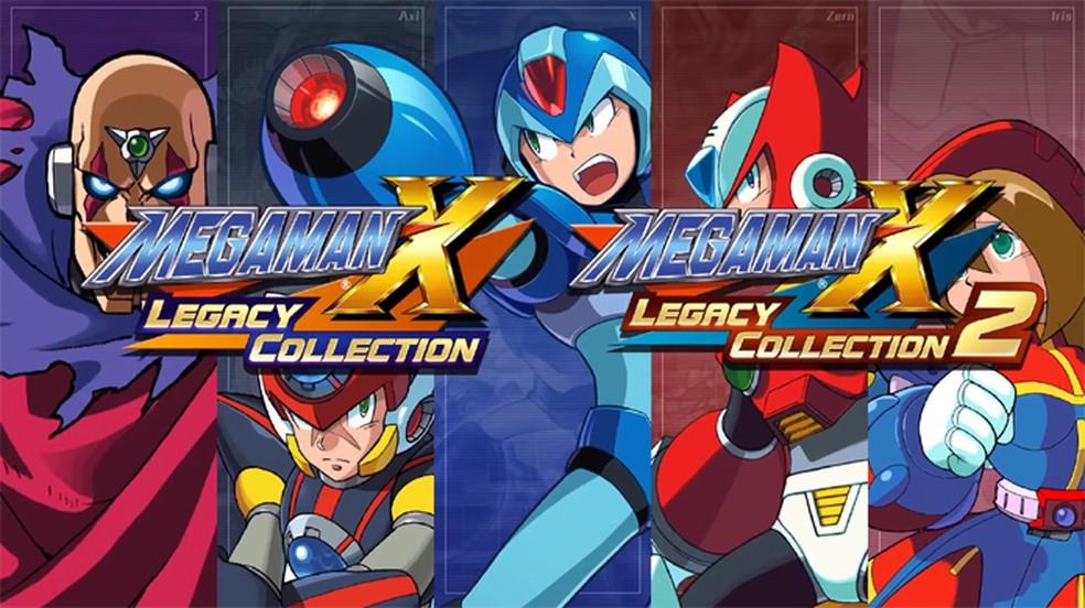 Mega Man X Legacy Collection 1 & 2 trará oito clássicos com várias opções (Foto: Divulgação/Capcom)