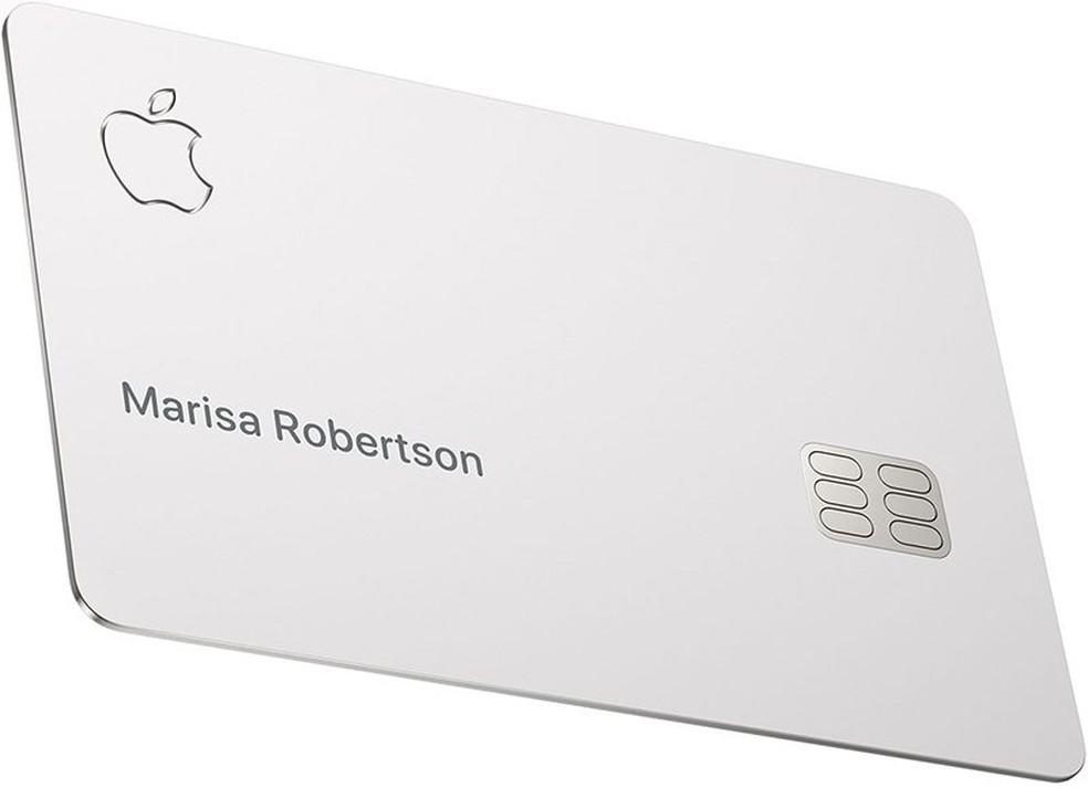 Apple Card: o cartão de crédito sem tarifas da gigante americana chega em agosto — Foto: Divulgação/Apple