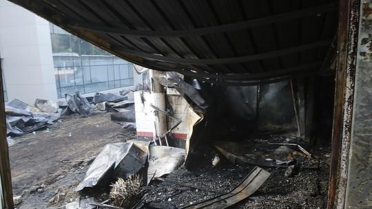 Incêndio no Ninho: em estado grave, garoto de 15 anos será transferido para hospital referência no tratamento de queimados
