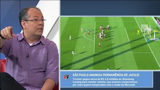 """Vilaron: manutenção de Jucilei é """"Papai Noel para o torcedor do São Paulo"""""""