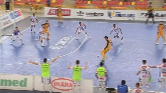Sorocaba goleia Joaçaba e agora joga por um empate para avançar às quartas de final da LNF