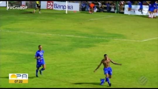 Nos acréscimos, Águia de Marabá vence o Paragominas no Zinho Oliveira