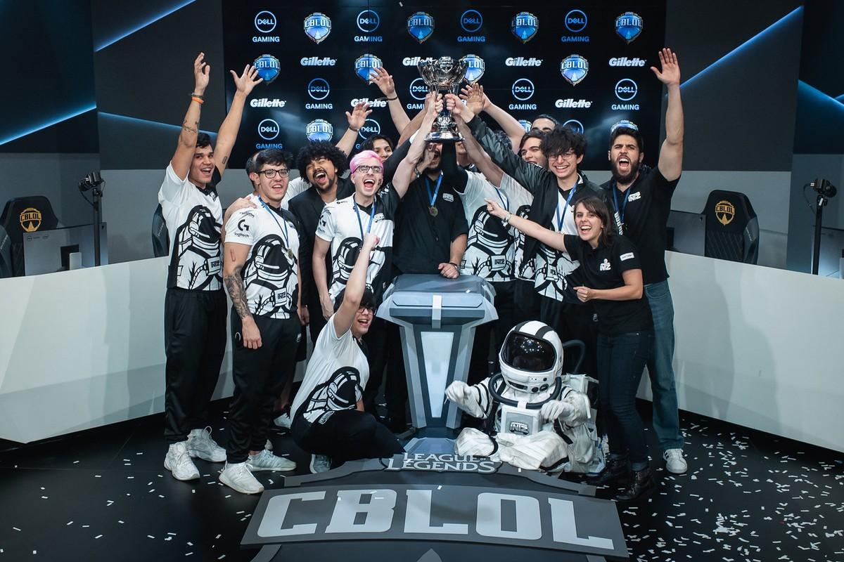 Final do cblol 2020