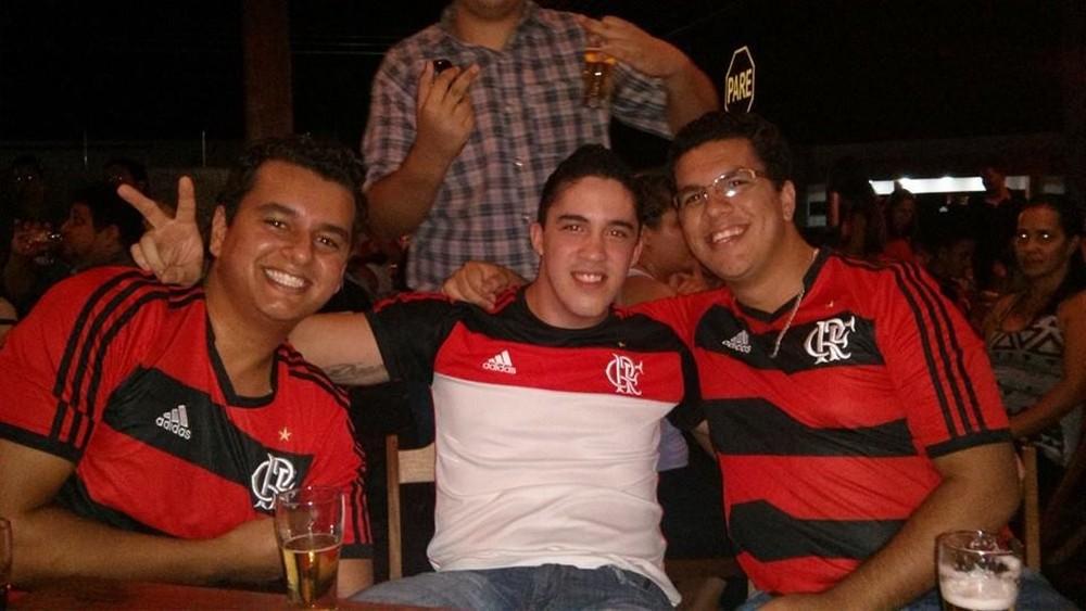 Quatro amigos vÃģo viajar de carro atÃĩ Lima, no Peru, para acompanhar o jogo do Flamengo (Foto: Arquivo Pessoal)