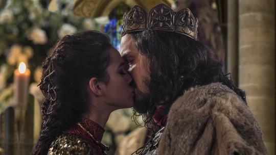 Afonso e Catarina se casam