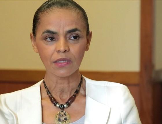 Marina Silva, candidata do PSB à Presidência da República (Foto: ÉPOCA)